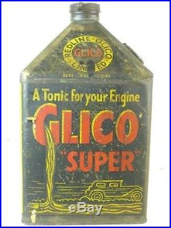 331681 Old Garage Vintage Tin Can Classic Motor Auto Car Oil Glico Pyramid