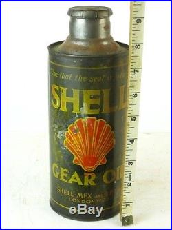 331707 Old Garage Vintage Tin Can Classic Motor Auto Car Oil Shell Gear