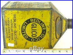 331715 Old Garage Vintage Tin Can Classic Motor Auto Car Oil Glico Pyramid