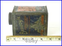 332021 Old Garage Vintage Tin Can Classic Motor Cycle Car Oil Mobiloil sign