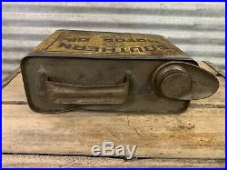 Antique Vtg 1910s-20s SOUTHERN MOTOR OIL 1/2 Gallon Can Coldwater Michigan Rare