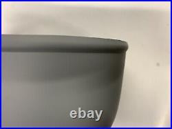 Bowser Petrol Pump Top Shade Vintage Oil Enamel Sign Globe Motor Spirit Shell