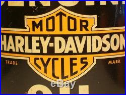 Full 1940 S Vintage Harley Davidson Motorcycle Motor Oil