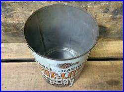 Harley Davidson Pre-Luxe Motorcycle Vintage Quart Oil Can Empty