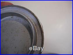 L1627- Vintage 6 OZ WHIZ SPEEDRY POWDERED CAR WASH OIL TIN METAL SIGN CAN