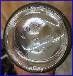Minty Vintage Australia 1 Pint Texaco Oil Bottle Petrol Advertising Car Scarce
