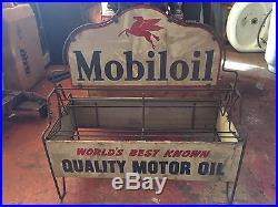 Mobile oil vintage oil rack