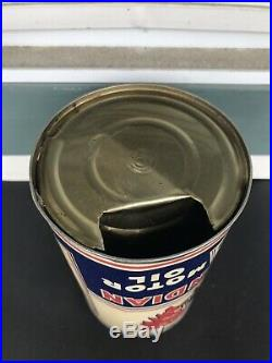 Oil Can Imperial Quart Red Indian Oil Aviation Empty Vintage Canada