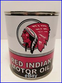 Old Vintage Motor Oil Cans 1 qt. 10 can Special Mix or Match any 10 listed