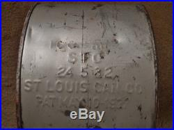 Original 1927-dated Penzbest Kendall Motor Oils ROCKER CAN Vintage Oil Can