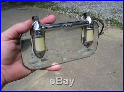 Original GM Lighted Vanity Visor service Mirror vintage chevy 1938 1939 bomba