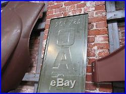 Original Vintage Ask For Castrol Motor Oil Embossed Vertical Tin Sign 70 x 16