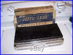 Original vintage 1940s Automobile nos Tissue dispenser gm auto part bomba dash