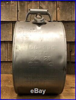 RARE Vintage PENN EMPIRE Motor Oil 5 Gal Gas Service Station Rocker Can