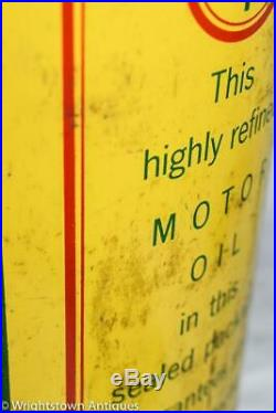 RARE Vtg 1930s GOLD MEDAL MOTOR OIL 5qrt Can Authentic NICE CONDITION