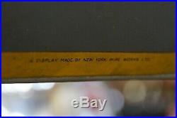Rare Vintage Bardahl Oil Can Tin Rack Display