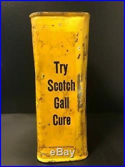 Rare Vintage Rega Coach Oil Tin Can Winnipeg Oil Co Buggies Sulkies Wagons