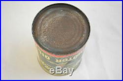VINTAGE 1930s SOUTHERN PREMIUM MOTOR OIL 1QT FULL UNOPENED SCARCE GAS & OIL CAN