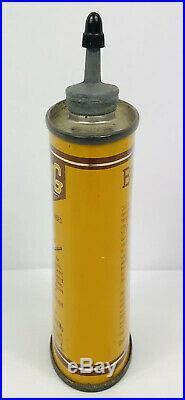 VINTAGE BROWNING GUN OIL CAN, TIN 3 OZ. LEAD TOP-Handy Oiler, E+ CONDITION