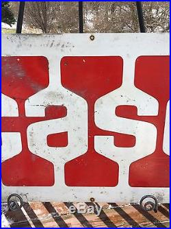 Vintage Case Ih Dealer Tractor Farm Machinery 36 Metal Gas Oil Barn Sign Rare