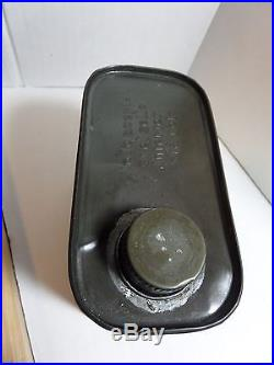 VINTAGE RARE 1930's-40s ESSO 2-T MOTOR OIL TIN CAN HANDY OILER (DRIP BOY & GIRL)