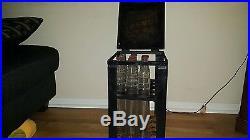 Vtg Shell Penn Beacon 1qt Oil Bottles With Storage Case