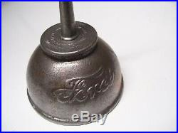 Very old 1908 Original Ford motor co. Auto Can oil accessory vintage tool kit