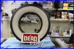 Vintage 1960's Dean Tires Tire Gas Station Oil Metal Sign Display WITH TIRE