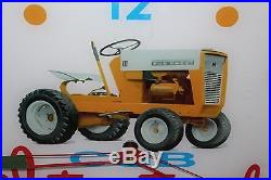 Vintage 1960's IH International Harvester Tractor Gas Oil 15 Lighted Clock Sign