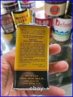 Vintage Advertising Gm General Motors Handy Oiler Oil Auto Tin Can 373-y