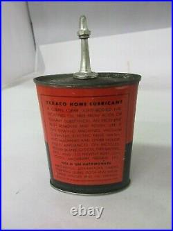 Vintage Advertising Rare Texaco Home Oil Oiler Tin Collectible 898-q