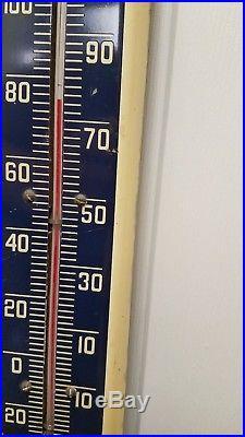 Vintage Advertising Wanda Motor Oil Thermometer 56-Y