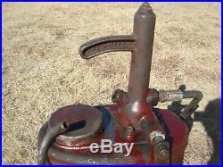 Vintage Alemite Grease Oil Gun Greaser Antique Gas Pump Sign Lubster Oiler