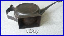 Vintage / Antique Oil Can / Oiler Banjo Teapot Stand Classic Cars -9 Inch
