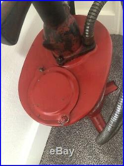 Vintage Antique TEXACO Oil Grease Pump Can ALEMITE Dispenser Hand Crank Handle