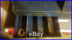 Vintage Auto-lite Service Parts Gas And Oil Dealer Countertop Display