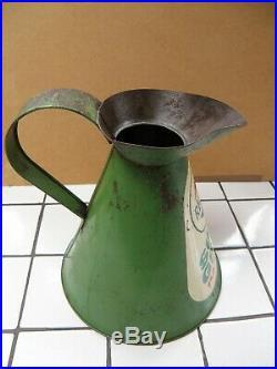Vintage Automobilia Regent Super Green Paraffin Pourer/jug Oil Can 1/2 Gallon