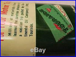 Vintage CONOCO Anti Squeak Lead Top Handy Gun Reel Oiler Oil Tin Can EMPTY