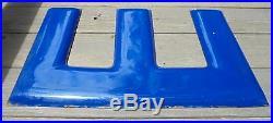 Vintage Dean Tires Porcelain Gas Oil Display Sign