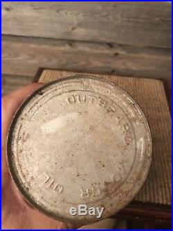 Vintage Deluxe Canadian Oil Quart Can
