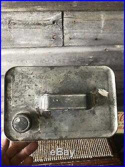 Vintage Enarco Oil Can Advertising