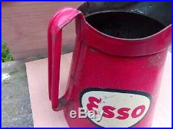 Vintage Esso Oil Jug set of 3 Rare Collectables
