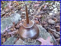 Vintage Ford script early 1900s antique tool kit Oil can auto promo oiler part