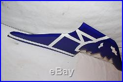 Vintage Goodyear Tires Flying Foot Gas Oil 31 Porcelain Metal SignNice