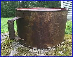 Vintage KENDALL Penzbest Motor Oil 5 Gal Gas Station Rocker Can Sign