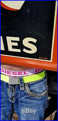 Vintage Metal Early 1938 Exide Battery Sign Oil Gas Gasoline Tire LG 49X19