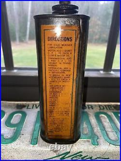 Vintage Oilzum Oil Can