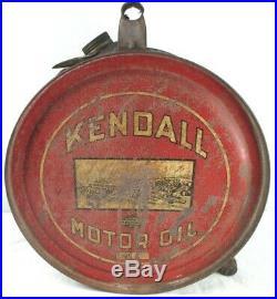 Vintage Original Kendall Motor Oil 5 Gal Rocker Can