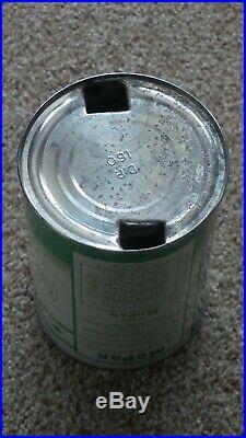 Vintage Original MOPAR Super Anti-Freeze Chrysler Dodge Desoto One Quart Oil Can