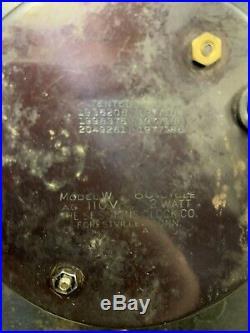 Vintage Original Mobil Oil Gas Pegasus Wall Clock